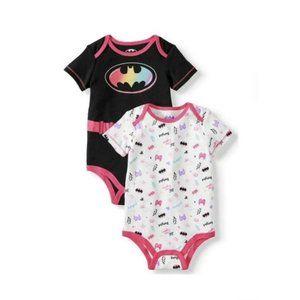 DC Baby Girl Bodysuit, Batgirl, 3-6M - New